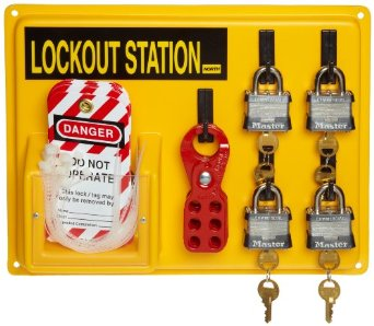 Get an organized way of keeping your machines safe with our lock out tag out kits and stations. Buy them now and save up to 35% today!